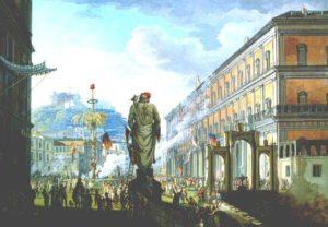Naples in 1799