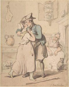 The Sailor's Return by Rowlandson